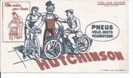 Buvard Hutchinson. Pneus Vélo Moto Vélomoteur.  (Bicyclette) - Transports