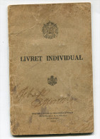 Roumanie Romania Rumänien - Military ID - Full Military Service (same Person) 1925 - 1938 - Documenti