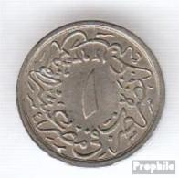 Ägypten KM-Nr. : 289 1293 /21 Vorzüglich Kupfer-Nickel Vorzüglich 1293 1/10 Qirsh Tughra - Aegypten