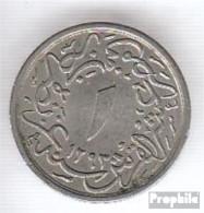 Ägypten KM-Nr. : 289 1293 /24 Vorzüglich Kupfer-Nickel Vorzüglich 1293 1/10 Qirsh Tughra - Aegypten
