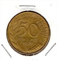 50c 1962 4 Plis - France