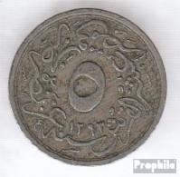 Ägypten KM-Nr. : 291 1293 /11 Sehr Schön Kupfer-Nickel Sehr Schön 1293 5/10 Qirsh Tughra - Aegypten