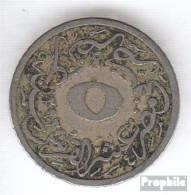 Ägypten KM-Nr. : 291 1293 /29 Sehr Schön Kupfer-Nickel Sehr Schön 1293 5/10 Qirsh Tughra - Aegypten