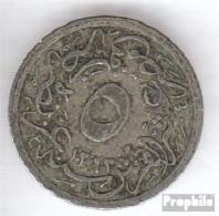 Ägypten KM-Nr. : 291 1293 /30 Sehr Schön Kupfer-Nickel Sehr Schön 1293 5/10 Qirsh Tughra - Aegypten