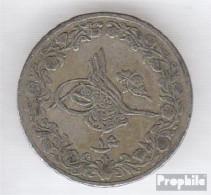 Ägypten KM-Nr. : 299 1293 /27 Sehr Schön Kupfer-Nickel Sehr Schön 1293 1 Qirsh Tughra - Aegypten