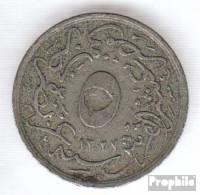 Ägypten KM-Nr. : 304 1327 /2 Sehr Schön Kupfer-Nickel Sehr Schön 1327 5/10 Qirsh Tughra - Aegypten
