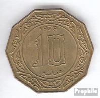 Algerien KM-Nr. : 110 1981 Vorzüglich Aluminium-Bronze Vorzüglich 1981 10 Dinars Inschrift - Algerien
