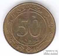 Algerien KM-Nr. : 119 1988 Sehr Schön Aluminium-Bronze Sehr Schön 1988 50 Centimes Verfassung - Algerien