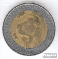 Algerien KM-Nr. : 125 1996 /1416 Sehr Schön Bimetall Sehr Schön 1996 20 Dinars Löwe - Argelia