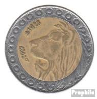 Algerien KM-Nr. : 125 2007 Sehr Schön Bimetall Sehr Schön 2007 20 Dinars Löwe - Algerien