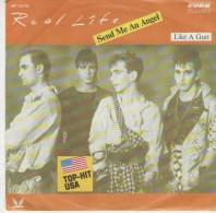Real Life   : Send Me An Angel   / Like A Gun  - CURB Records 112.710 - Disco, Pop