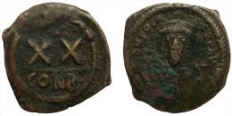 AE Half Follis - Phocas (602-610 AD) Byzantine Empire - Byzantine