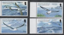 SOUTH GEORGIA ,2015, BIRDS, ALBATROSS, 4v - Vogels
