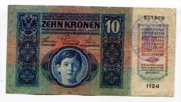 Croatia Serbie Serbia Ovp Austria Hungary DOUBLE Overprint  SET 10 Kronen 1915 RARE !!! - Croatia