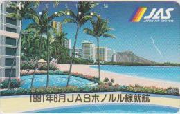 AIRPLANE - JAPAN-065 - JAS - AIRLINE - 110-011 - Airplanes