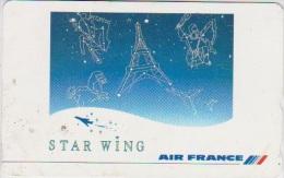 AIRPLANE - JAPAN-071 - AIR FRANCE - AIRLINE - ZODIAC - HOROSCOPE - 110-011 - Avions