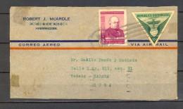 1940 REPUBLICA DOMINICANA, FRONTAL DE SOBRE CIRCULADO A LA HABANA, CORREO AÉREO - Dominican Republic
