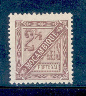 Mozambique - 1893 D. Carlos 2 1/2 R - Af. 28 - MH - Mozambique
