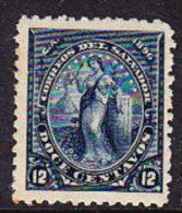 El Salvador 1896 Issues - 12c. Deep Blue - Mint - El Salvador