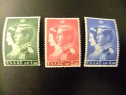 GRECIA -  GRÈCE 1964 - YVERT Nº 838 / 840 ** MNH - Unused Stamps