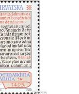 Kroatien 361-362 (kompl.Ausg.) Postfrisch 1995 Kroatische Inkunabeln - Kroatien