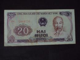 Vietnam Viet Nam 20 Dong AU Banknote 1985 - P#94a / 02 Images - Vietnam