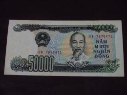 Vietnam Viet Nam 50000 Dong UNC Banknote / Billet 1994 -P#116 / 02 Images - Vietnam
