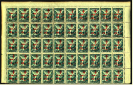 Bogenteil  -  50 X Griechenland Zwangszuschlag  -  Hilfe Für Tuberkulöse Postbeamte  -  Mi. Nr. 71** Postfrisch - St.Pierre & Miquelon
