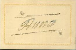 Vornamen Nome Anna In Glitzereffekt Glitter Effet Um 1920 - Vornamen