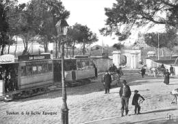 VAR  83  TOULON A LA BELLE EPOQUE  REPRO  LA  PORTE NOTRE DAME  ROND POINT DES LICES - Toulon