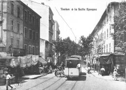 VAR  83  TOULON A LA BELLE EPOQUE  REPRO  LE PONT DU LAS  ROUTE DE MARSEILLE - Toulon
