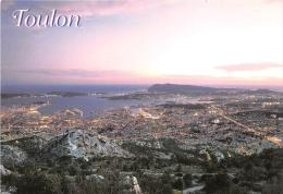VAR  83  TOULON  BY NIGHT  VUE GENERALE - Toulon