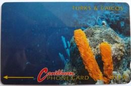 TURKS & CAICOS - GPT - 1CTCB - $5 - T&C-1B - Mint - Turks- En Caicoseilanden