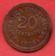 PORTUGAL - 1925 - 20 Centavos - - Portugal