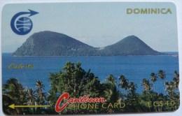 DOMINICA - GPT - 3CDMC - $40 - DOM-3C - Mint - R - Dominica