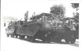 Carte Photo - Engins DUKW 353 Véhicule Amphibie Armée USA - Equipment