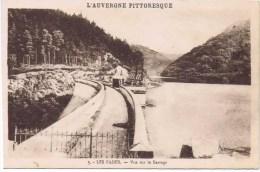 Cpa  LES FADES Vue Sur Le Barrage - Frankreich