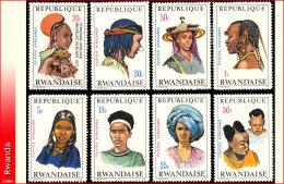 Rwanda 0408/15*  Coiffes II  H