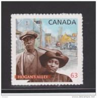 CANADA, 2014, #2703,  BLACK HISTORY: HOGAN´ALLEY, VANCOUVER,  COUPLE  ,  BUILDINGS   MNH - Carnets