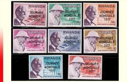 Rwanda 0790/97* Journ�e mondiale des l�preux  H