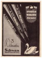 Original Werbung - 1941 - SCHWAN Bleistiftfabrik In Nürnberg , Othello , Stabilo , Swano , Bleistifte !!! - Schreibgerät