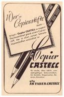 Original Werbung - 1941 - FABER - Castell , Copierstifte , Bleistifte !!! - Schreibgerät