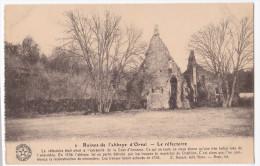 Orval  Ruïnes De L' Abbaye D'Orval   Le Réfectoire - Florenville