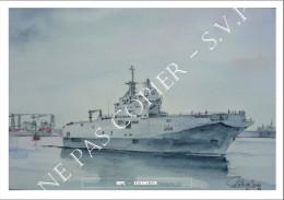 CP Inédite - Carte-Postale De Navire Marine Nationale - BPC Dixmude L9015 - Guerre