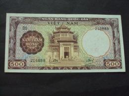 South Viet Nam Vietnam 500 Dong Saigon Museum EF Banknote 1964 - P#22 / 02 Images - Vietnam