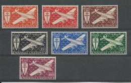 NOUVELLE CALEDONIE - YVERT N° PA46/52 ** - COTE : 10 EUROS ++ - - Airmail