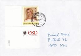 1307h: Personalisierte Marke Aus Österreich: Erotik- Indira, Gest. 21.03.05 Zustellbasis 3910 Zwettl - Austria