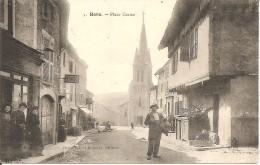 42 - BOËN,  PLACE CARNOT (ECRITE) - Francia