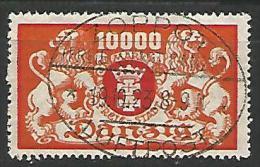 DANTZIG - YVERT N� 130 OBL TTB