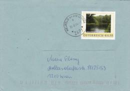1307r: Personalisierte Marke Aus Österreich: Wald Lobau, Gest. 10.8.04 In 2491 Neufeld An Der Leitha - Umweltschutz Und Klima